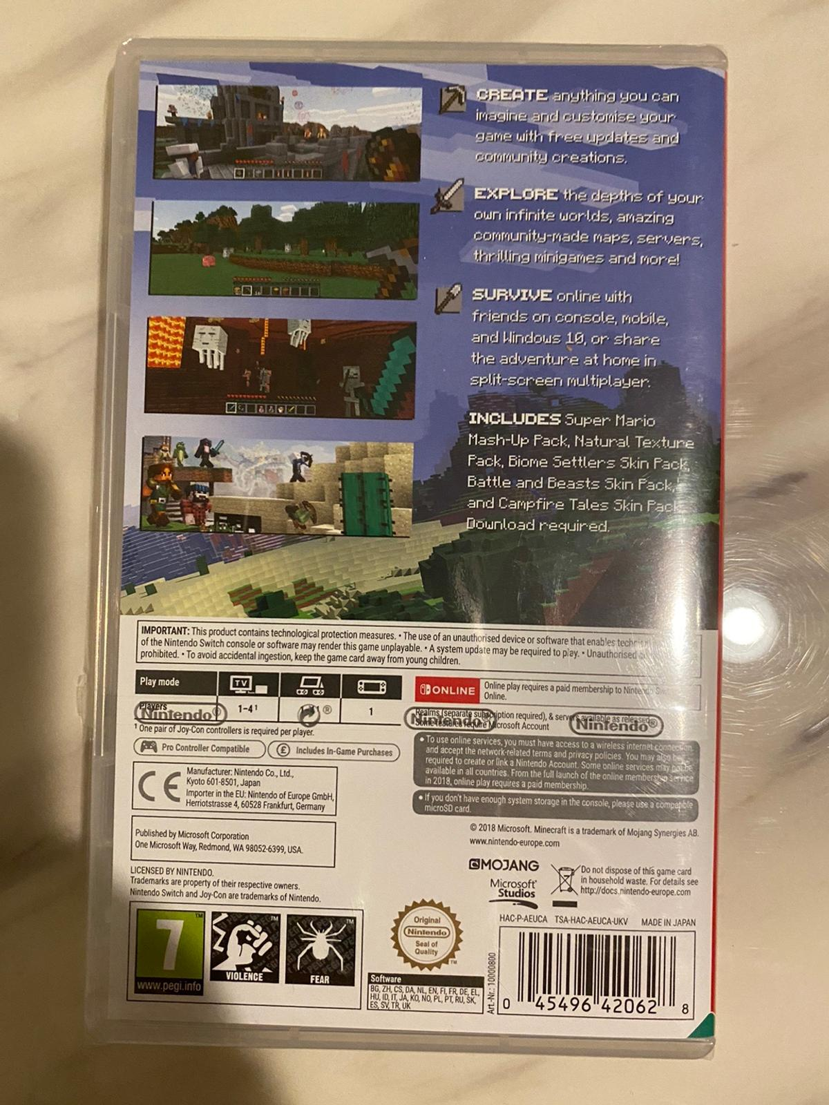 Minecraft Nintendo Switch Edition In Coventry For 20 00 For Sale Shpock